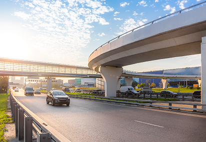 Concrete-roads-and-flyovers